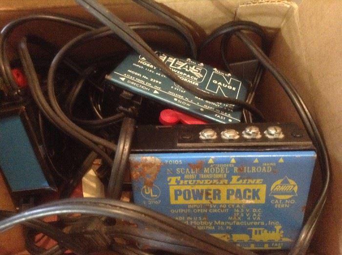 Train Power Packs