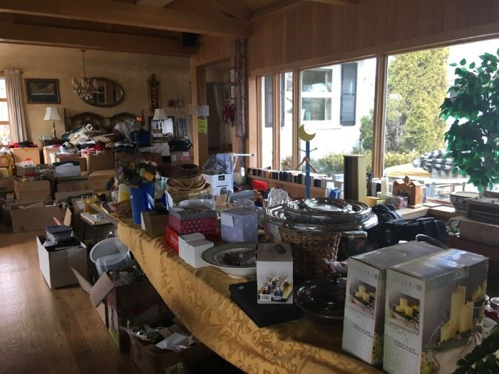 so many items!