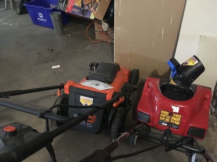 lawn mower snowblower