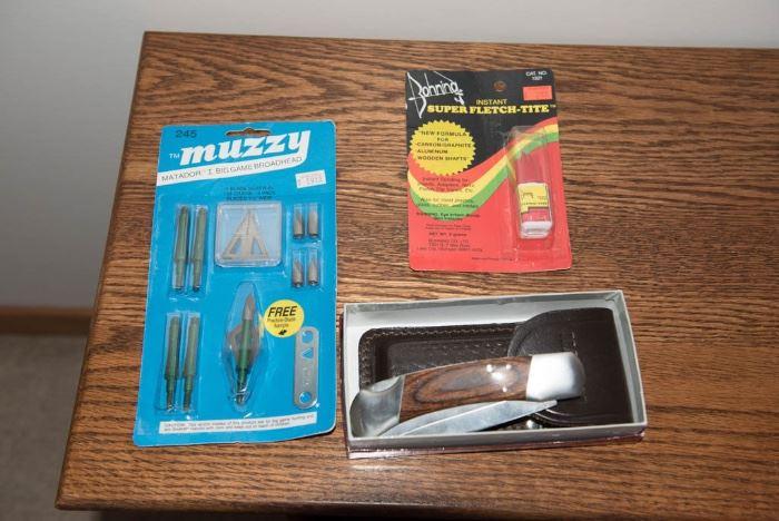 Muzzy Trocar HB Hybrid 4 Blade Broadhead