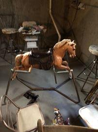 rocking rocker horse