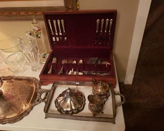 Stirling Silver Flat Ware set of 8