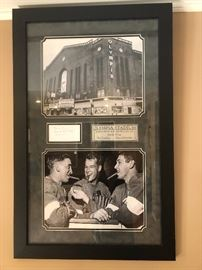 VINTAGE RED WINGS SIGNED ART