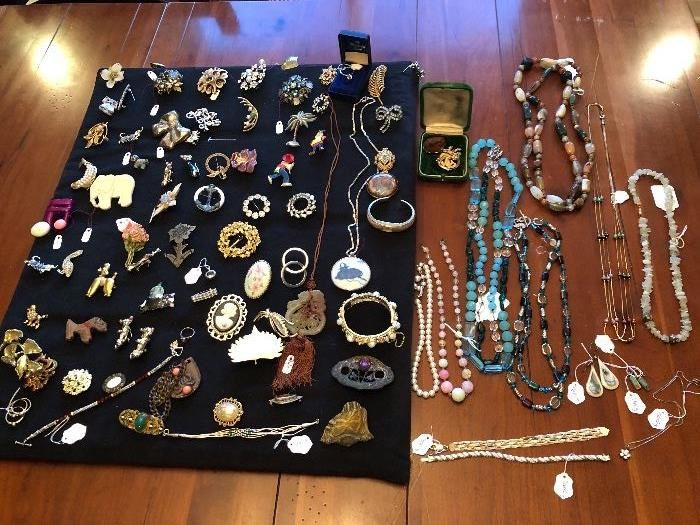 Jewelry, some STERLING