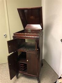 Vintage Victrola cabinet