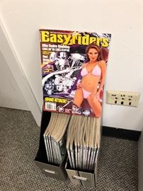 Vintage EASY RIDER magazines