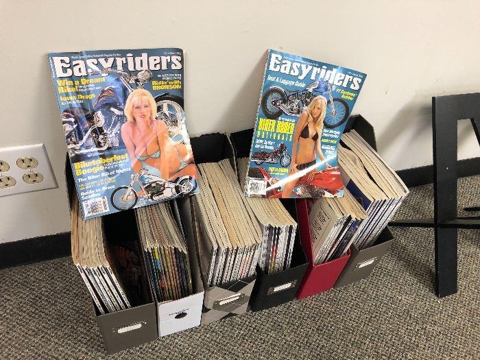 Vintage EASY RIDERS magazines