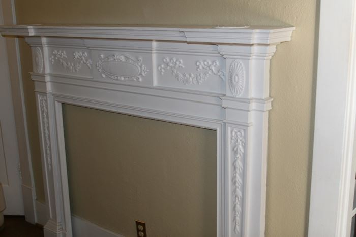 Vintage mantle from the Jacksonian Apartment which uses to be on West End before it was torn down and replaced by Walgreen's.