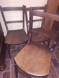 mid 18th century Dutch chairs