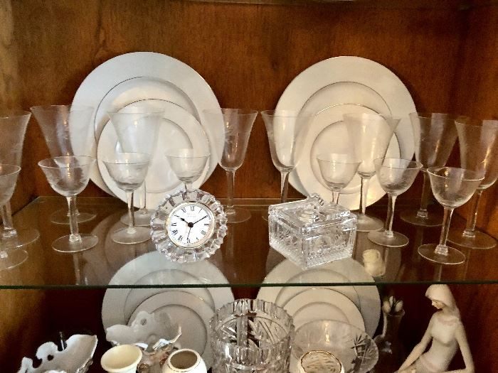 Beautiful Princess House stemware— LARGE ASSIRTMENT IF PRINCESS HOUSE STEMWARE AND GIFT WARE!