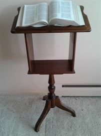 Reading Stand and Bible