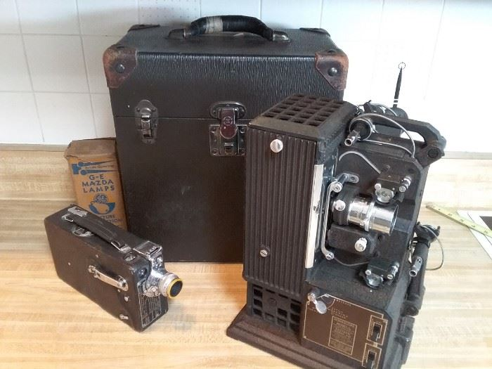Vintage Movie Equipment