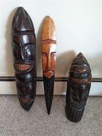 Wooden African Art