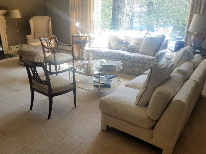Excellent quality upholstered sofas and seating