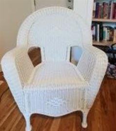 Hampton Bay wicker chair