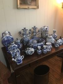 Cobalt blue collectibles