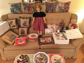 LARGE SHIRLEY TEMPLE DOLL AND MORE