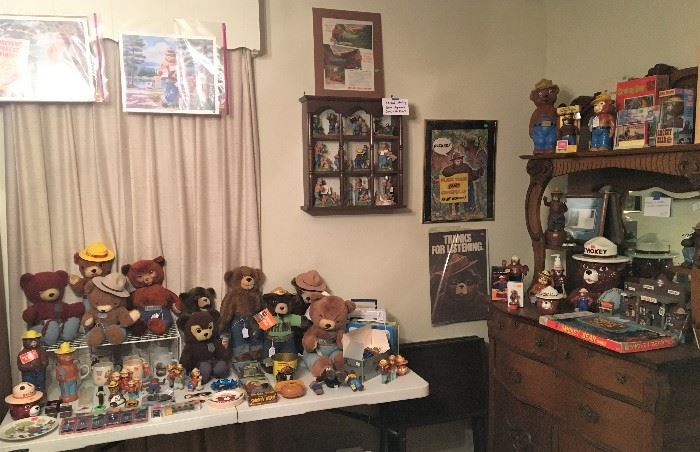 MORE SMOKEY THE BEAR COLLECTIBLES