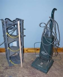 Heavy Duty Metal Shelf and Commercial Vacuum Clean ...