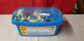 Tub of Lego Building Pieces
