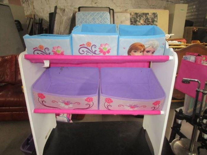 FROZEN Childs Storage Cube Cabinet