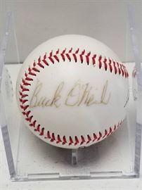 Buck ONeil Autographed Official Negro League Lega ...