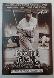 2016 Leaf Babe Ruth Collection Blaster Sealed Box ...