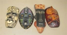 Small African Mask Collection