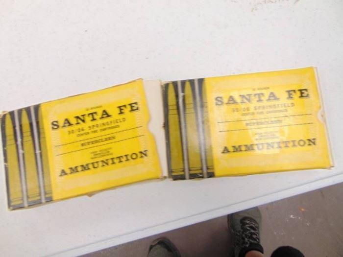 2 Boxes of Santa Fe 3006 Blanks