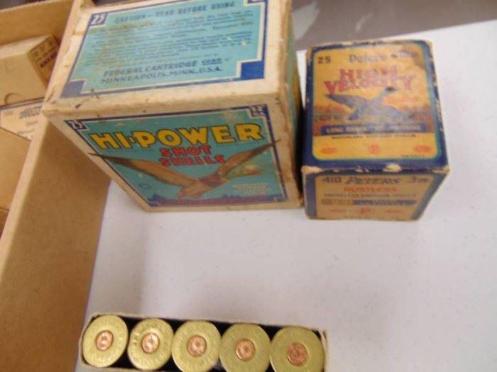 2 Empty Shell Boxes Box of Slugs