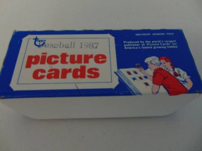Baseball 1987 Picture Cards
