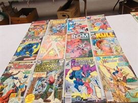 12 Comic Books