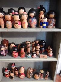 WOODEN FIGURE COLLECTION