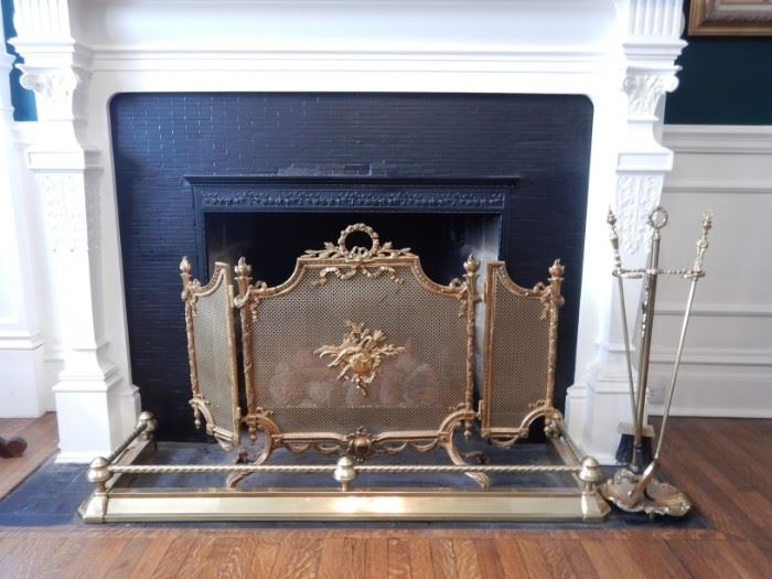 FRENCH FIRESCREEN, FENDER, TOOLS