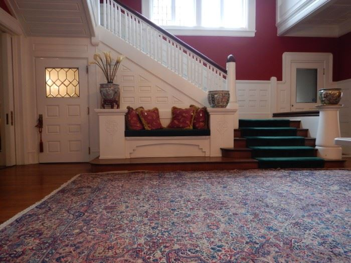 """CENTER HALL 11'6""""X16'6"""" PERSIAN STYLE RUG"""