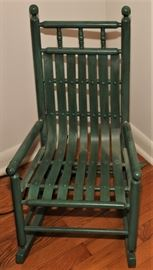 SHAKER STYLE CHILD'S ROCKER