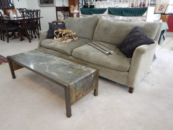 DOWN FILLED SOFA-LUXURIOUS COMFORT-BY WILLIAMS SONOMA