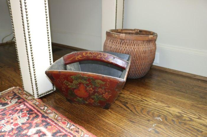 Chinese Rice Basket