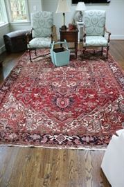 Antique Hand Knotted Persian Rug
