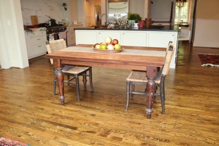 Vintage Rustic Wood Table