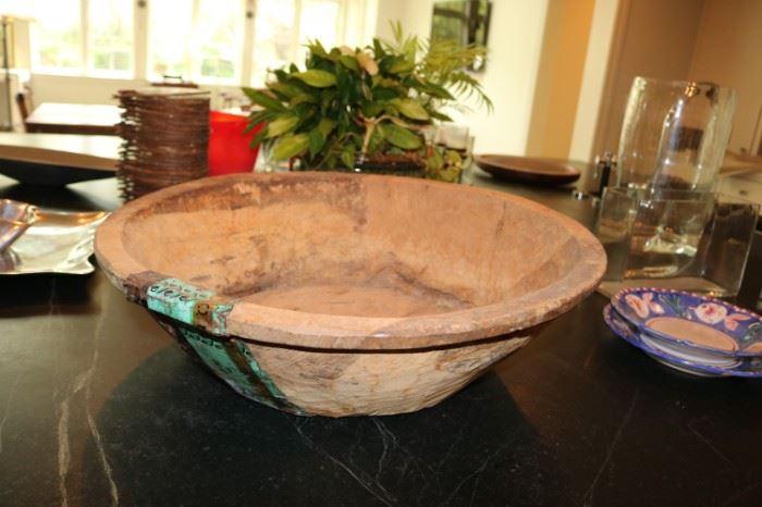 Primative Dough Bowl