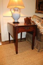Early 1800's Pembroke Side Table
