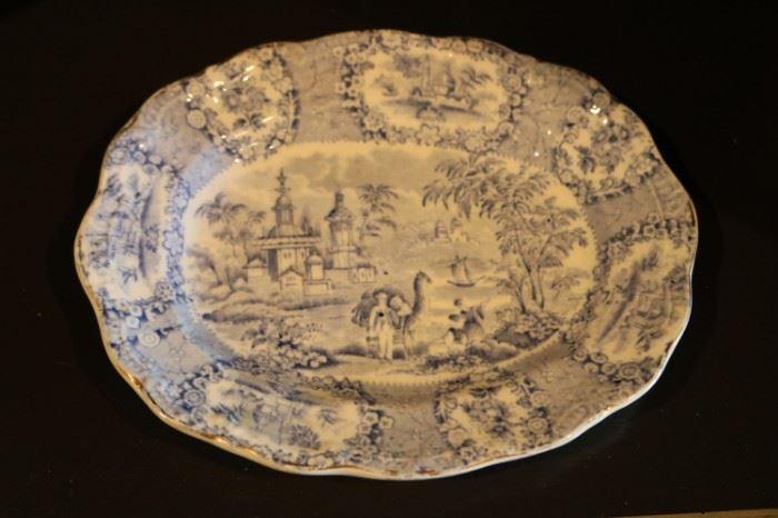 Ridgway Oriental Blue plate