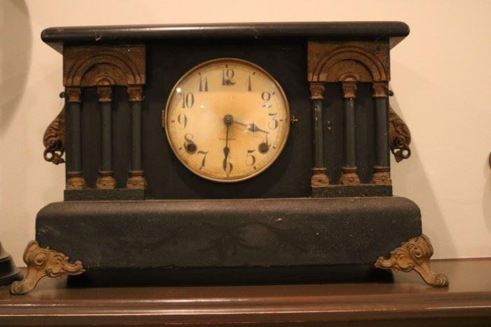 Antique 1910's Gilbert Mantel Clock