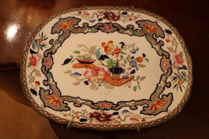 Minton Antique Platters