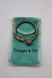 Tiffany & Co Sterling Silver Golf Key Chain