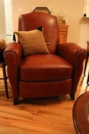 Like New Ethan Allen Leather Recliner