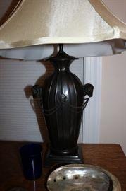 Rams Head Lamp