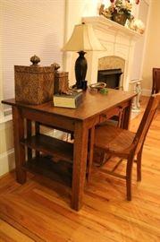 Antique Craftsman Mission Style Desk