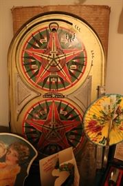 """VINTAGE ANTIQUE 1934 """"LINDSTROM'S GOLD STAR"""" TOY TABLETOP PINBALL MACHINE"""